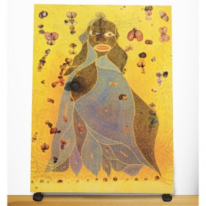 Controversial Chris Ofili Painting Is Up For Auction at Christie's.  With an Estimate of $2.3 Million.