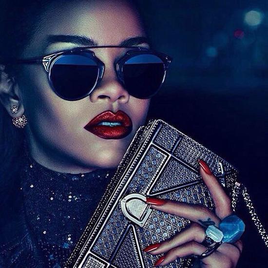 Rihanna Dior 2015 Versailles Secret Garden