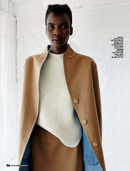Tricia Akello Marie Claire South Africa Black Fashion Models
