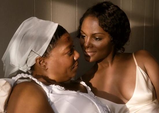 Bessie Film Still Queen Latifah Tika Sumpter