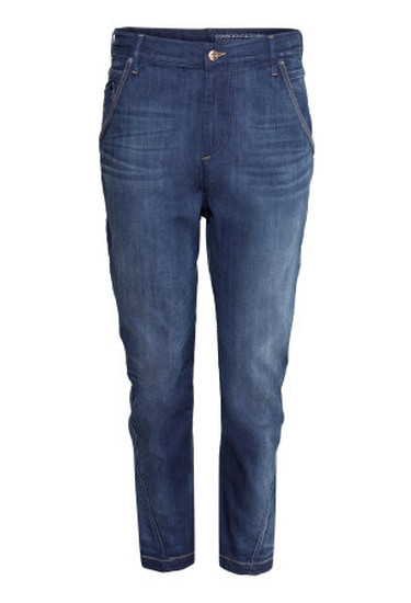 Tapered Low Jeans.