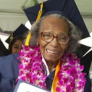 99-Year-Old Doreetha Daniels Fulfills Her Dream of Graduating College.