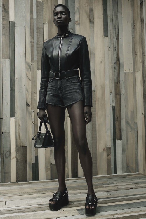 Achok Majak, Black Fashion Models, Alexander Wang