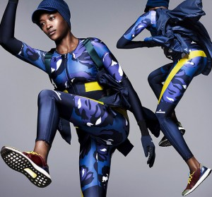 Lookbooks.  Betty Adewole. Adidas by Stella McCartney Fall 2015.
