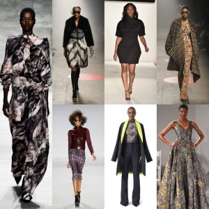 12 Black Fashion Designers At New York Fashion Week. Fall 2015.