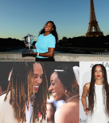 News Round Up.  Serena's Big Win. Brittney Griner. Zoë Kravitz. And More.