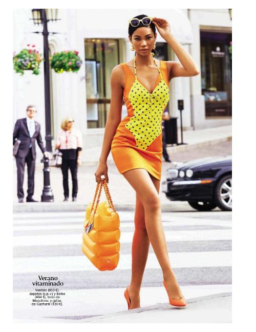 Chanel Iman Vogue Spain
