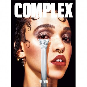 Images. FKA twigs Covers Complex Magazine.