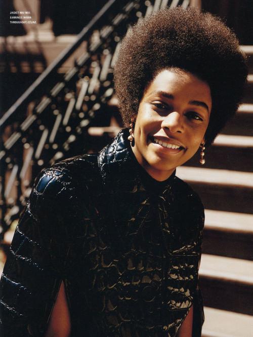 Karly Loyce, Models Natural Hair, Black Fashion Models, Black Fashion Magazine, African American Fashion Magazine