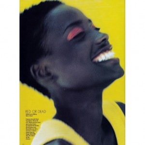 Editorial Throwback.  Lorraine Pascale.  Elle UK June 1994.  Images by Michael Woolley.