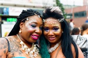Snapshots. Fun and Fantasy at Brooklyn's Mermaid Parade.