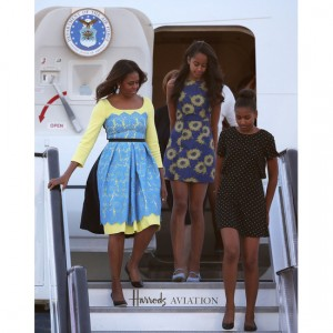 Michelle Obama Visits London As Part of Let Girls Learn Initiative.