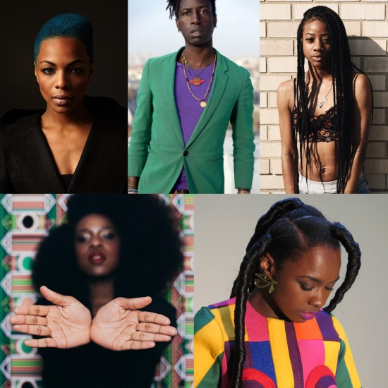 Saul Williams, Sharaya J, Nao, Pink Oculus, DonMonique