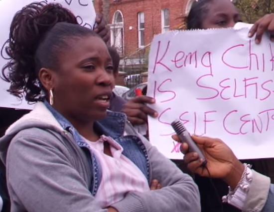 Nigerian Protest Dublin