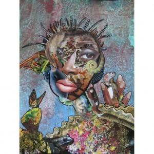 Art. Penda Diakité.  Mixed Media and Mixed Cultures.