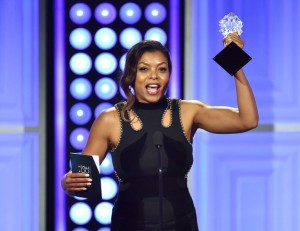 Taraji P. Henson Snags 'Best Actress in a Drama Series' Award at the 5th Annual Critics' Choice Television Awards.