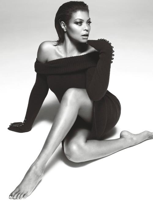 Taraji P. Henson Fashion W Magazine Mert and Marcus