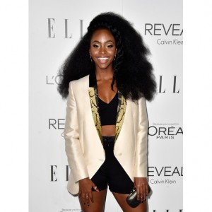 Actress Teyonah Parris Tweets About Random Stranger Touching Her Hair.