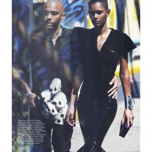 Editorials. Ysaunny Brito.  Elle Magazine.  Images by David Bellemere.