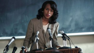 First Look. Kerry Washington as Anita Hill in Upcoming HBO Film 'Confirmation.'