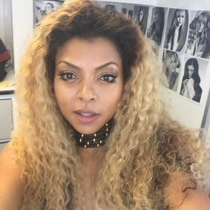 Taraji P. Henson Goes Blonde.