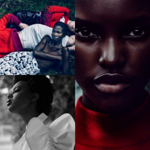Aamito Lagum, Amilna Estevão, and Poppy Okotcha Stun in LOVE Magazine's AW15 Issue.