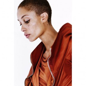 Editorials. Adwoa Aboah in Rick Owens for 'Out of Order.' Images by Paul Maffi.