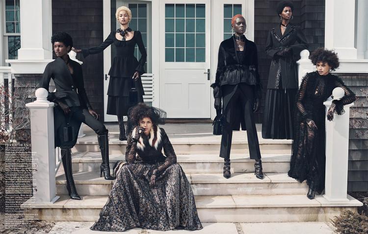 Black Fashion Models, Ajak Deng, Amilna Estevão, Anais Mali, Aya Jones, Binx Walton, Tami Williams