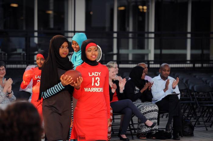 Muslim Sports Clothing Minnesota Tucker Center