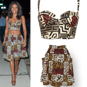 Steal Gabrielle Union's Tummy-Baring Style From Royal Jelly Harlem.