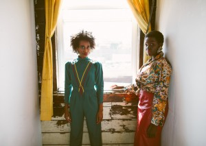Holly and Amaya For Grunge Vogue Vintage.  Images by Tiarra Sorte.