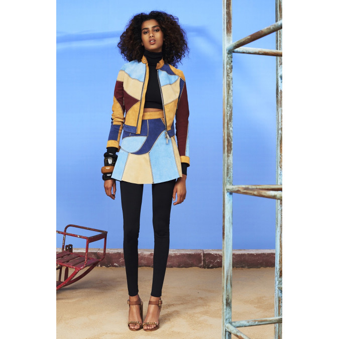 Hammam Style collections. imaan hammam for dsquared² resort 2016. | superselected