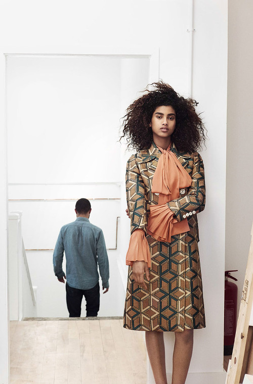 Imaan Hammam, Black Fashion Models