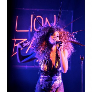 Listen to this. LION BABE. 'Impossible.'