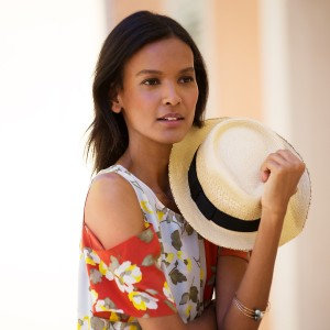 Liya Kebede Sports The Perfect Summer Wardrobe and Talks About Supporting African Designers For THE OUTNET.COM.