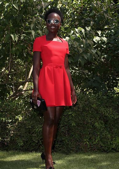 Lupita Nyong'o Dior 2015