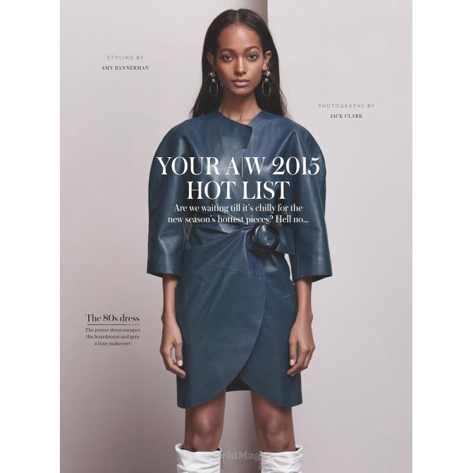 Melie Tiacoh, Black Fashion Models, InStyle UK