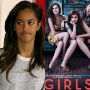Malia Obama Spotted on the Set of 'Girls' with Lena Dunham.