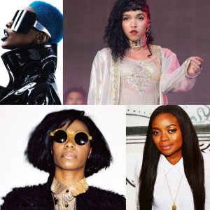 Listen to This. New Music From Santigold.  FKA twigs at Glastonbury.  Ruby Amanfu.  and More.