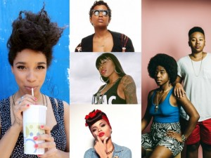 Your Morning Music Mix.  Tink.  THEESatisfaction. Dej Loaf. Lianne La Havas. Andra Day.