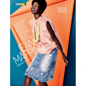 Editorials. Nykhor Paul. Adeola Ariyo. Cosmopolitan South Africa. Images by Justin Polkey.