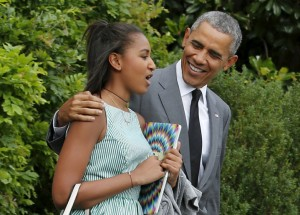 President Obama Took In Some Father-Daughter Time in New York Over the Weekend.