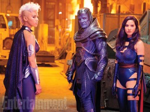 First Look. Alexandra Shipp as Ororo Munroe/Storm in 'X-Men: Apocalypse.'