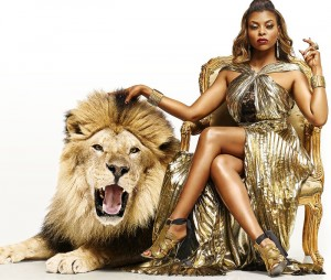 Taraji P. Henson is A Golden Queen in This Latest 'EMPIRE' Promo Poster.