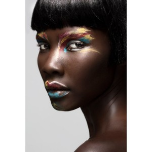 Beauty. Tricia Akello by Gareth Van Nelson.