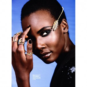 Beauty. Tricia Akello.  Glamour South Africa.  Images by Cameron McDonald.
