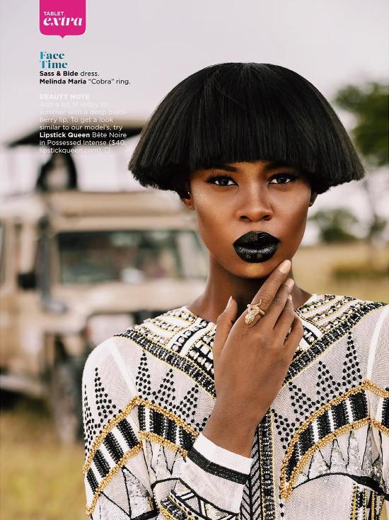 Snapshots. Tshepiso Ralehlathe For Essence Magazine's Global Issue.