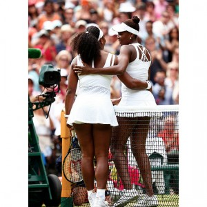 Serena Williams Emerges Victorious After Facing Sister Venus at Wimbledon.