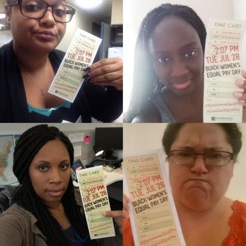 Wage Equality Black Women