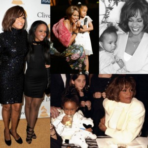 Images.  Bobbi Kristina and Whitney Houston Throughout the Years.